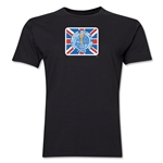 1966 FIFA World Cup England Men's Premium Historical Poster T-Shirt (Black)