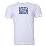1966 FIFA World Cup England Men's Premium Historical Poster T-Shirt (White)
