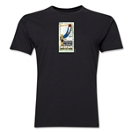 1930 FIFA World Cup Uruguay Men's Premium Historical Poster T-Shirt (Black)