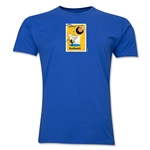 1958 FIFA World Cup Sweden Men's Premium Historical Poster T-Shirt (Royal)