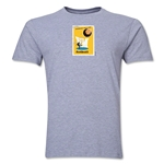1958 FIFA World Cup Sweden Men's Premium Historical Poster T-Shirt (Grey)