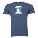 1978 FIFA World Cup Argentina Men's Premium Historical Poster T-Shirt (Blue)