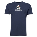 1990 FIFA World Cup Italy Men's Premium Historical Poster T-Shirt (Navy)