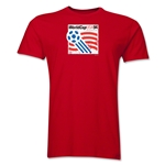 1994 FIFA World Cup USA Men's Premium Historical Poster T-Shirt (Red)