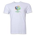 2006 FIFA World Cup Germany Men's Premium Historical Poster T-Shirt (White)
