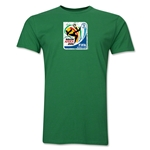 2010 FIFA World Cup South Africa Men's Premium Historical Poster T-Shirt (Green)