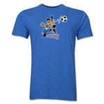 1994 FIFA World Cup Striker Men's Mascot Logo T-Shirt (Heather Royal)
