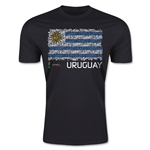 FIFA U-20 World Cup Uruguay Fashion T-Shirt (Black)