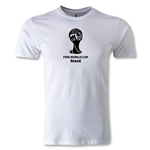 2014 FIFA World Cup Brazil(TM) Men's Premium Emblem T-Shirt (White)