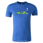 2014 FIFA World Cup Brazil(TM) Men's Fashion Team Brazil T-Shirt (Royal)