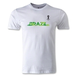 2014 FIFA World Cup Brazil(TM) Men's Fashion Team Brazil T-Shirt (White)