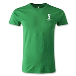 2014 FIFA World Cup Brazil(TM) Men's Emblem Premium T-Shirt (Green)