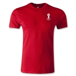 2014 FIFA World Cup Brazil(TM) Men's Emblem Premium T-Shirt (Red)