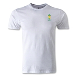 2014 FIFA World Cup Brazil(TM) Men's Emblem Fashion T-Shirt (White)