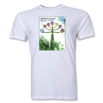 Curitiba 2014 FIFA World Cup Brazil(TM) Host City Men's Fashion T-Shirt (White)