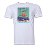 Fortaleza 2014 FIFA World Cup Brazil(TM) Host City Men's Fashion T-Shirt (White)
