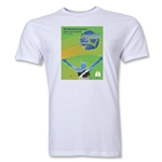 Natal 2014 FIFA World Cup Brazil(TM) Host City Men's Fashion T-Shirt (White)