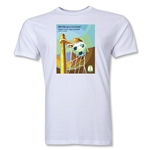 Salvador 2014 FIFA World Cup Brazil(TM) Host City Men's Fashion T-Shirt (White)