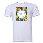 Sao Paulo 2014 FIFA World Cup Brazil(TM) Host City Men's Fashion T-Shirt (White)