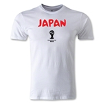 2014 FIFA World Cup Brazil(TM) Japan Core Men's Fashion T-Shirt (White)