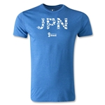 2014 FIFA World Cup Brazil(TM) Team Japan Men's Fashion T-Shirt (Heather Royal)