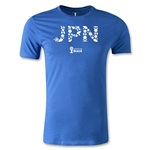 2014 FIFA World Cup Brazil(TM) Team Japan Men's Fashion T-Shirt (Royal)