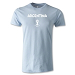 Argentina 2014 FIFA World Cup Brazil(TM) Men's Premium T-Shirt (Sky)