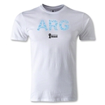 Argentina 2014 FIFA World Cup Brazil(TM) Men's Premium Elements T-Shirt (White)