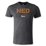 Netherlands 2014 FIFA World Cup Brazil(TM) Men's Premium Elements T-Shirt (Dark Grey)