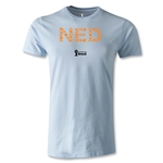 Netherlands 2014 FIFA World Cup Brazil(TM) Men's Premium Elements T-Shirt (Sky)