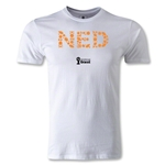 Netherlands 2014 FIFA World Cup Brazil(TM) Men's Premium Elements T-Shirt (White)
