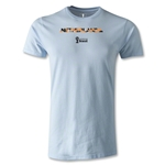 Netherlands 2014 FIFA World Cup Brazil(TM) Men's Premium Palm T-Shirt (Sky)
