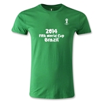 2014 FIFA World Cup Brazil(TM) Men's Fashion Logotype T-Shirt (Green)