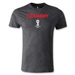 Germany 2014 FIFA World Cup Brazil(TM) Men's Premium Core T-Shirt (Dark Grey)