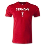 Germany 2014 FIFA World Cup Brazil(TM) Men's Premium Core T-Shirt (Red)