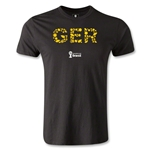 Germany 2014 FIFA World Cup Brazil(TM) Men's Premium Elements T-Shirt (Black)