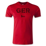Germany 2014 FIFA World Cup Brazil(TM) Men's Premium Elements T-Shirt (Red)