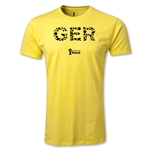 Germany 2014 FIFA World Cup Brazil(TM) Men's Premium Elements T-Shirt (Yellow)
