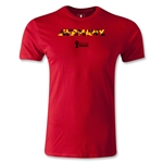 Germany 2014 FIFA World Cup Brazil(TM) Men's Premium Palm T-Shirt (Red)
