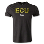 Ecuador 2014 FIFA World Cup Brazil(TM) Men's Premium Elements T-Shirt (Black)