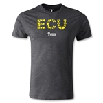 Ecuador 2014 FIFA World Cup Brazil(TM) Men's Premium Elements T-Shirt (Dark Grey)