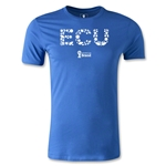 Ecuador 2014 FIFA World Cup Brazil(TM) Men's Premium Elements T-Shirt (Royal)