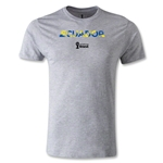 Ecuador 2014 FIFA World Cup Brazil(TM) Men's Premium Palm T-Shirt (Grey)