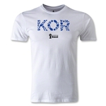 South Korea 2014 FIFA World Cup Brazil(TM) Men's Premium Elements T-Shirt (White)