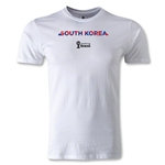 South Korea 2014 FIFA World Cup Brazil(TM) Men's Premium Palm T-Shirt (White)