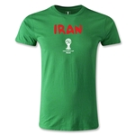 Iran 2014 FIFA World Cup Brazil(TM) Men's Premium Core T-Shirt (Green)