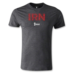 Iran 2014 FIFA World Cup Brazil(TM) Men's Premium Elements T-Shirt (Dark Gray)