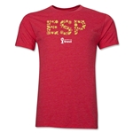 Spain 2014 FIFA World Cup Brazil(TM) Men's Premium Elements T-Shirt (Heather Red)
