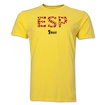 Spain 2014 FIFA World Cup Brazil(TM) Men's Premium Elements T-Shirt (Yellow)