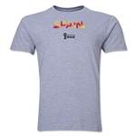Spain 2014 FIFA World Cup Brazil(TM) Men's Premium Palm T-Shirt (Grey)